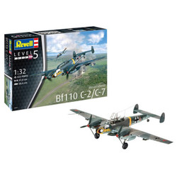 REVELL Messerschmitt Bf110 C-7 1:32 Aircraft Model Kit 04961