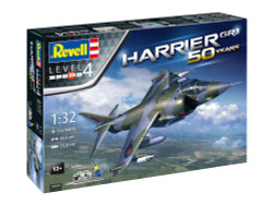 REVELL Gift Set Hawker Harrier GR Mk.1 50th Anniversary 1:32 Model Kit 05690