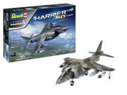REVELL Gift Set Hawker Harrier GR Mk.1 50th Anniversary 1:32 Model Kit 05690