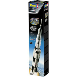 REVELL Gift Set Apollo 11 Saturn V Rocket 1:96 Space Model Kit 03704