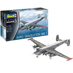 REVELL Avro Shackleton MR.3 1:72 Aircraft Model Kit 03873
