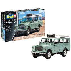 REVELL Land Rover Series III 1:24 Car Model Kit 07047