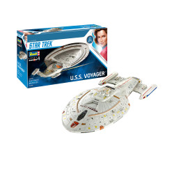 REVELL Star Trek U.S.S. Voyager 1:670 Space Moderl Kit 04992