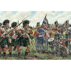 ITALERI Nap.War British & Scots Infantry 6058 1:72 Figures Kit