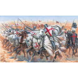 ITALERI Medieval Era Templar Knights 6125 1:72 Figures Kit