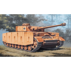 ITALERI Pz.Kpfw. IV Tank 7007 1:72 Military Vehicle Model Kit