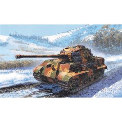 ITALERI King Tiger Tank 7004 1:72 Military Vehicle Model Kit