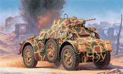 ITALERI Autoblinda Ab 43 7052 1:72 Military Vehicle Model Kit