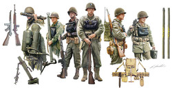 ITALERI U.S Infantry on Board 6522 1:35 Figures Model Kit