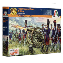 ITALERI Napoleonic French Imperial Guard Artillery 6135 1:72 Figures Kit