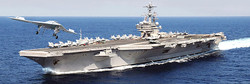 ITALERI USS George H W Bush CVN 77 5534 1:720 Model Kit Ships