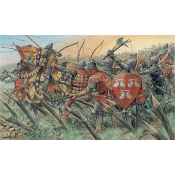 ITALERI 100 Years War British Warriors 6027 1:72 Figures Kit