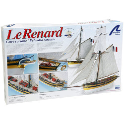 ARTESANIA LATINA Le Renard / The Fox 22401 Model Ship Kit 1:50