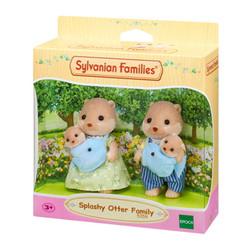 SYLVANIAN Families Splashy Otter Family Figures 5359