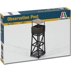 ITALERI Observation Post 418 1:35 Military Model Kit