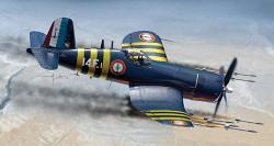 ITALERI F4U-7 Corsair 1313 1:72 Aircraft Model Kit