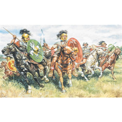 ITALERI Roman Cavalry 6028 1:72 Model Kit Figures