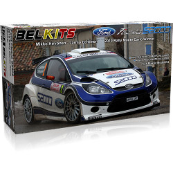 BELKITS Ford Fiesta S2000 Rally Car Model Kit 1:24 BEL002