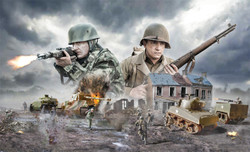 ITALERI Operation Cobra 1944 1:72 Military Model Kit 6116