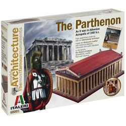 ITALERI The Parthenon World Famous Monuments 68001 Model Kit