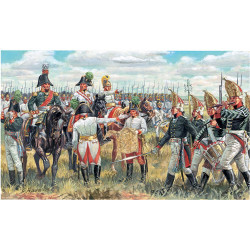 ITALERI Napoleonic Wars All Gen Staff Jun 6037 1:72 Figures Kit