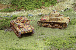 ITALERI Carro Armato M13/40 Tank 7517 1:72 Military Vehicle Model Kit
