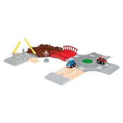 BRIO 33819 Car Racing Kit for Wooden Train Set