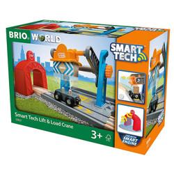 BRIO 33827 Smart Tech - Harbour Crane for Wooden Train Set