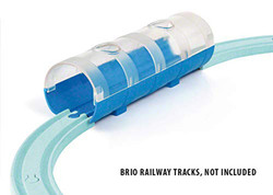 BRIO 33890 Tunnel & Travel Train for Wooden Train Set