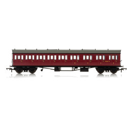 HORNBY Coach R4879A BR Collett 57' Bow Ended E131 9 Cpt Comp RH W6242W Era 4