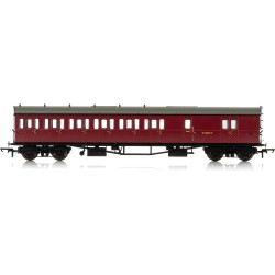 HORNBY Coach R4880 BR Collett 57' Bow Ended D98 6 Cpt Brake 3rd LH W5507W Era 4