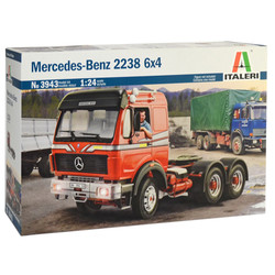 ITALERI Mercedes Benz 2238 6x4 3943 1:24 Truck Model Kit