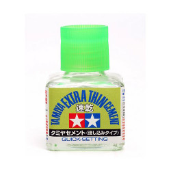 TAMIYA 87182 Extra Thin Cement Glue (Quick Set)