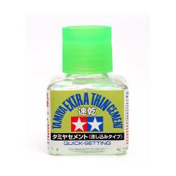 TAMIYA 87182 Extra Thin Glue (Quick Set)