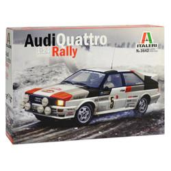 ITALERI Audi Qurattro Rally 3642 1:24 Car Model Kit