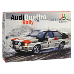 ITALERI Audi Qurattro Rally 3642 1:24 Car Model Kit