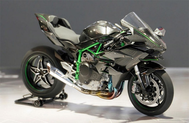 Tamiya 14131 Kawasaki Ninja H2r 112 Bike Model Kit Jadlam Toys