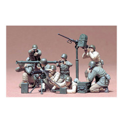 TAMIYA 35086 U.S. Gun and Mortar Team 1:35 Military Model Kit