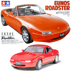 TAMIYA 24085 Mazda Eunos Roadster 1:24 Car Model Kit
