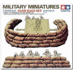 TAMIYA 35025 Sand Bags 1:35 Military Model Kit