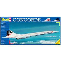 REVELL Concorde British Airways 1:144 Plastic Model Kit 04257