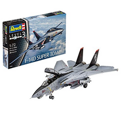 REVELL Grumman F-14D Super Tomcat 1:72 Plastic Model Kit 03960
