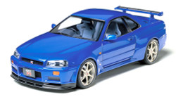 TAMIYA 24210 Nissan Skyline GT-R V-spec R34 1:24 Car Model Kit