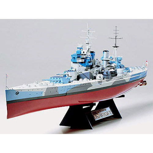 TAMIYA 78010 HMS King George V 1:350 Ship Model Kit