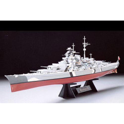 TAMIYA 78013 Bismarck with stand 1:350 Ship Model Kit