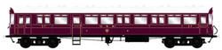 Dapol Autocoach GWR Lined Crimson 37 O Gauge DA7P-004-007