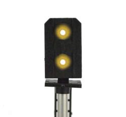 Train Tech Sensor Signal (RH Feather) - Multi 4 Aspect HO/OO Gauge TTSS10R