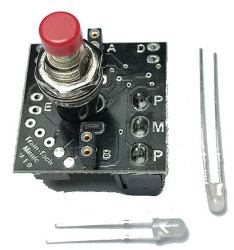 Train Tech Mimic with Push Buttom Switch/Plug in LEDs N/HO/OO Gauge TTMS2