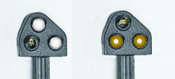 Train Tech Ground Position Signal Kit - Modern Yellow HO/OO Gauge TTGK3