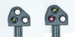 Train Tech Ground Position Signal Kit - Original Red HO/OO Gauge TTGK2